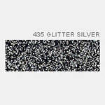 Термопленка Poli-Tape POLI-FLEX IMAGE GLITTER 435 SILVER ( серебро глиттер )