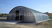 Проектирование бескаркасных арочных ангаров и сооружений