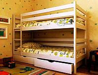 """Кровать двухъярусная детская подростковая от """"Wooden Boss"""" Денис (спальное место 90х190/200 см), фото 1"""