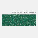 Термопленка Poli-Tape POLI-FLEX IMAGE GLITTER 437 GREEN ( зеленый глиттер )