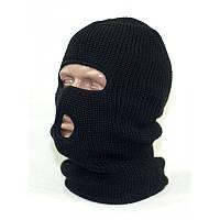 Шапка-маска,балаклава зимняя REIS (двойная вязка)