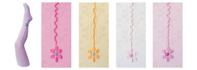 Колготки с декоративным швом для девочки, фото 2