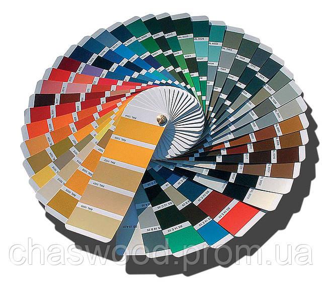 Цветовая палитра RAL