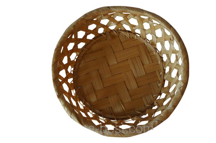 Плетенная корзинка, ручная работа, фото 2