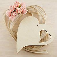 Сердце в сердце Фанера 4Х130Х150 мм  (товар при заказе от 200 грн)