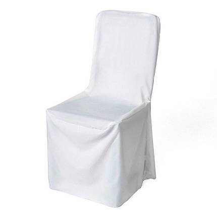 """Чехол на стул универсальный """"Класик"""", атлас, фото 2"""