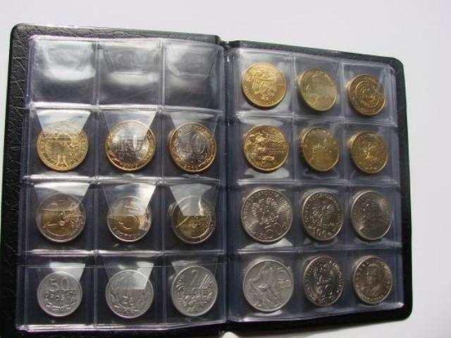 Карманные альбомы для монет