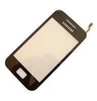 Сенсор Samsung S5830i Galaxy Ace small ic(5mm) черный HC