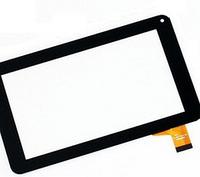 Оригинальный тачскрин / сенсор (сенсорное стекло) для YuYa-86V-B (черный цвет, самоклейка)