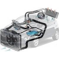 Система охлаждения Ford Fiesta Форд Фиеста 2008--