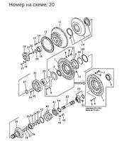 Фланец гидротрансформатора (ГТР) Komatsu D355A, D455A, 195-13-11663, 1951311663, 195-13-11666, 195-13-11661