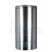 Труба-сэндвич дымоходная (термо) 0,5 метра 0,5мм н/оц AISI 304