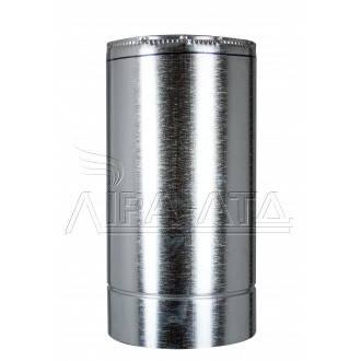 Труба-сендвіч димохідна (термо) 0,5 метра 0,8 мм н/оц AISI 304, фото 2