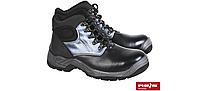 Профессиональная специальная обувь демисезонная кожаная Reis, ботинки унисекс