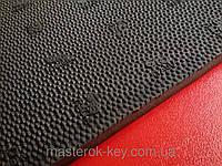 Резина набоечная GTO (износостойкая) Украина, р. 500*500*7.5мм, цв. чёрный