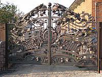 Кованые ворота, заборы, перголы, арки, мостики.