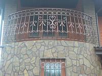 Кованые балконы, оконные ограждения, двери