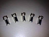 Многоразовые формы для наращивания ногтей (серебро)