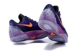 Мужские кроссовки Nike Zoom Kobe Venomenon 5 Crt Purple/Ttl Orange 749884-585, Найк Коб, фото 3
