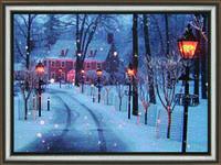 """Набор Crystal Art """"Морозный вечер"""" для изготовления картины своими руками"""