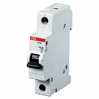 Автоматический выключатель ABB SH201-C10 тип C, 10А однополюсной