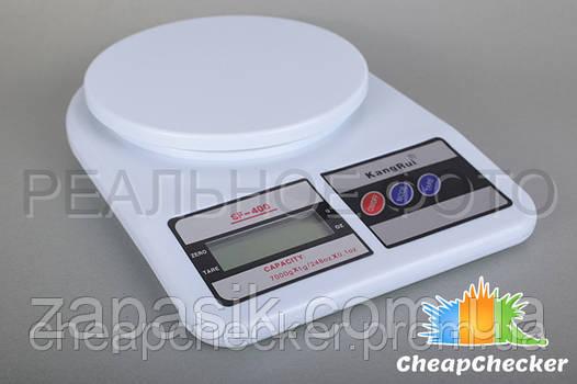 Электронные Кухонные Весы SF 400 до 7 кг + Батарейки