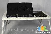 Столик Подставка для Ноутбука E-Table с 2 Кулерами