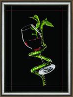 """Набор Crystal Art """"Любовный напиток"""" для изготовления картины своими руками"""