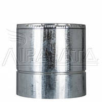 Труба-сэндвич дымоходная (термо) 0,25 метра, 1мм н/оц AISI 304