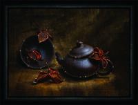 """Набор Crystal Art """"Восточное чаепитие"""" для изготовления картины своими руками"""