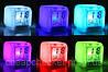 Светящиеся Часы Будильник Хамелеон Куб CX 508, фото 4