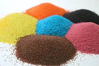 Цветной песок для муравьиной фермы натуральный, не крашеный