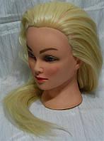 Учебная голова-манекен с искусственным термостойким волосам yre-4-521-613# yre