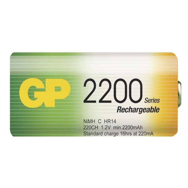 Акумулятор GP Rechargeable R14 2200 mAh Ni-MH