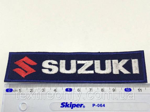Нашивка Suzuki ( сузуки ), фото 2
