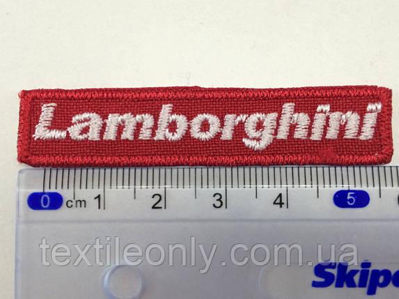 Нашивка Lamborghini ( ламборджини) small, фото 2