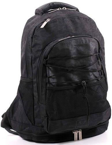 Практичный городской рюкзак 20 л. Bagland 18170-1 черный
