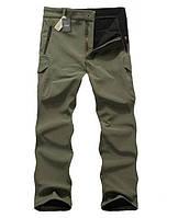 Ветрозащитные, влагостойкие штаны M, Хаки
