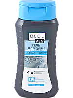 "Гель для душа 4 в 1 ULTRASENSITIVE TM ""Cool men"" 250мл"