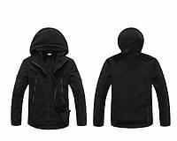 Тёплая флисовая куртка  XL, Чёрный