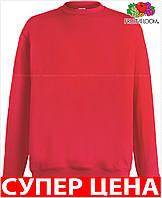 Мужской свитер кофта легкая приталеная классическая Цвет Красный Размер S 62-156-40 S