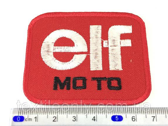 Нашивка elf moto ( эльф мото  ), фото 2