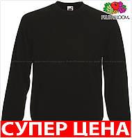 Мужской свитер кофта реглан теплый и мягкий с начосом Цвет Чёрный Размер S 62-216-36 S
