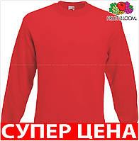 Мужская кофта свитер классический мягкий и теплый з начосом Цвет Красный Размер L 62-202-40 L