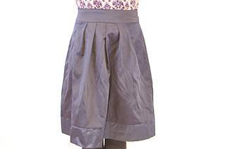 Стильная и оригинальная юбка в складу для девочки, Польша.