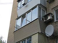 Балкон с расширением под ключ
