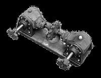 ЗП 02.300 Крышка с редукторами (редуктор питателя)  (ЗМ-60)