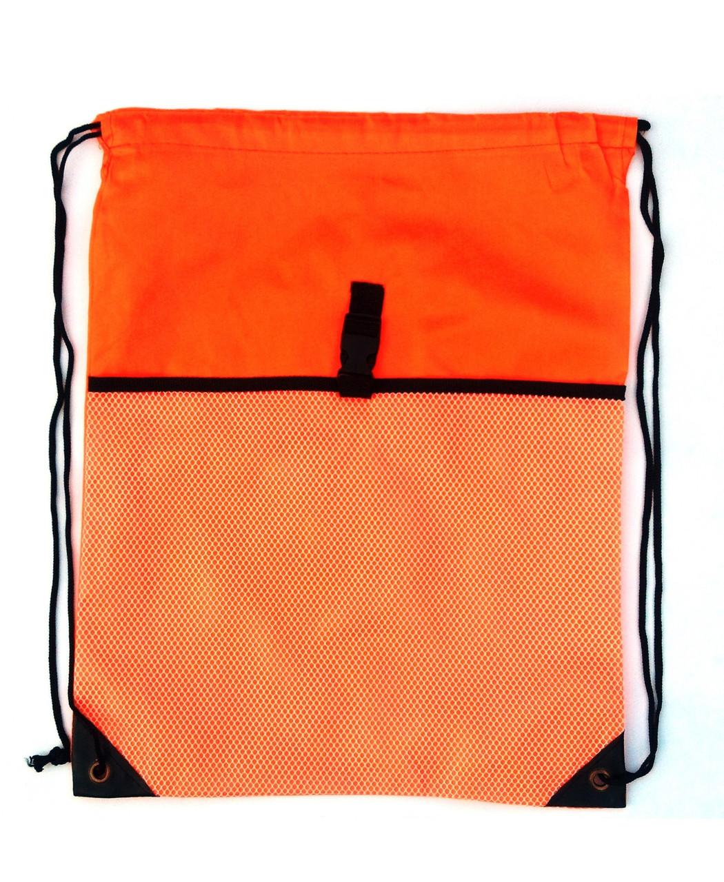 Сумка дла сменки 2 отделения, подросток Оранжевая