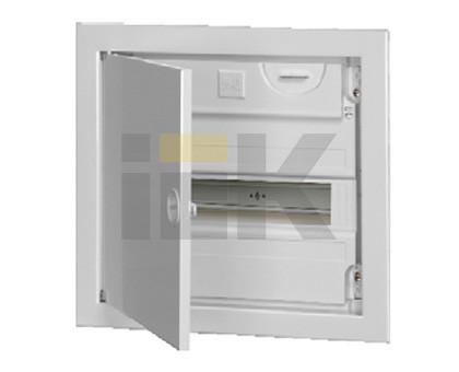 Корпуса модульные пластиковые с металической дверцей КМПв, IP30