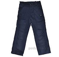 Штаны утепленные Одягайко 00168 темно-синие 28